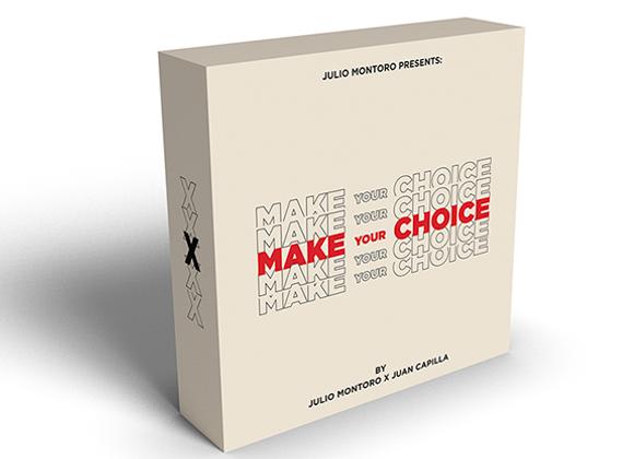 MAKE YOUR CHOICE by Julio Montoro and Juan Capilla (GV $10)