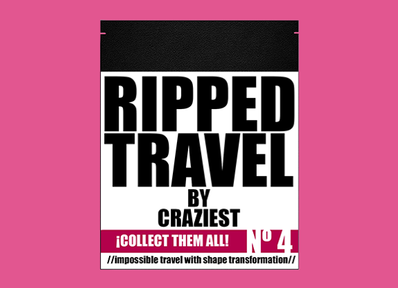 RIPPED TRAVEL by Craziest (GV $6)