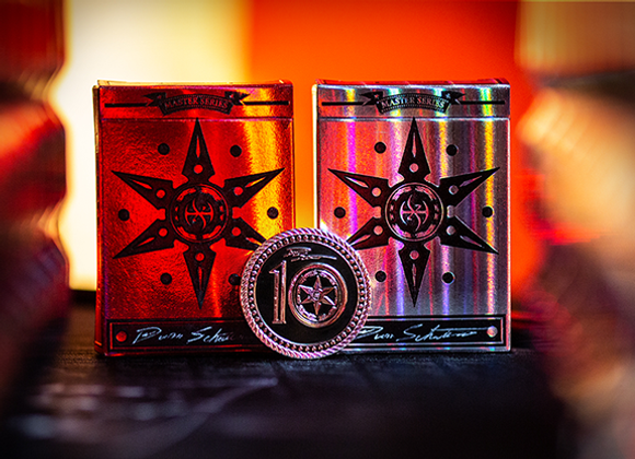 Limited 10th Anniversary Edition Blade Set Playing Cards by Handlordz (GV $12)