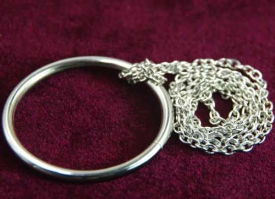 Ring on Chain