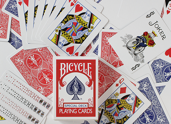 Bicycle Special Deck Playing Cards (plus 11 Online Effects) (GV $2)