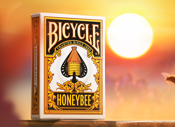 Bicycle Honeybee (Yellow) Playing Cards (GV $2)