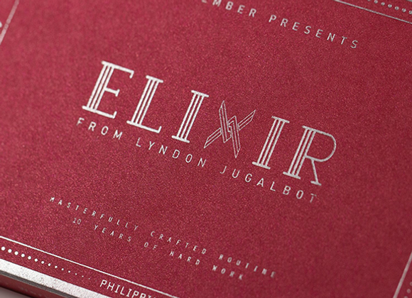 Skymember Presents ELIXIR RED by Lyndon Jugalbot