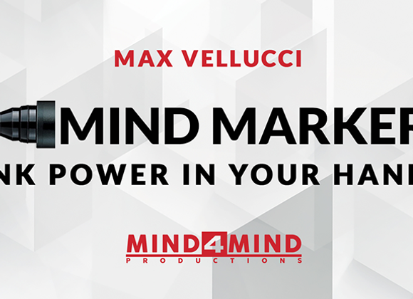 MIND MARKER by Max Vellucci (GV $17)
