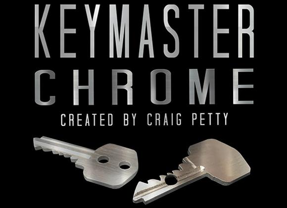 Keymaster Chrome by Craig Petty (GV $12)