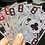 Thumbnail: Dragon Transparent Playing Cards (Fire Red)