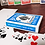 Thumbnail: Bicycle Turquoise Playing Cards
