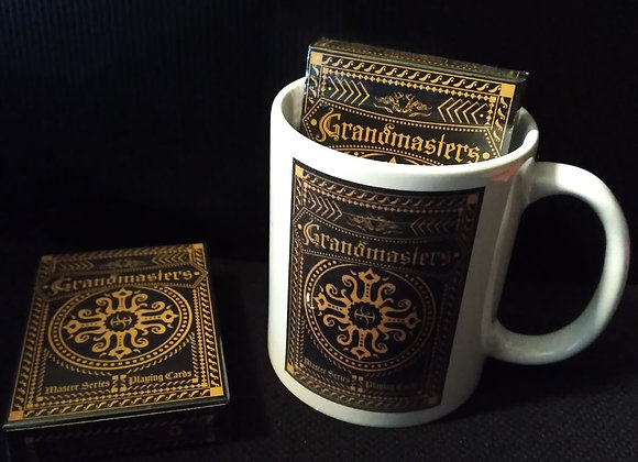 Grandmasters Casino XCM (Standard Edition) Playing Cards by HandLordz Mug set