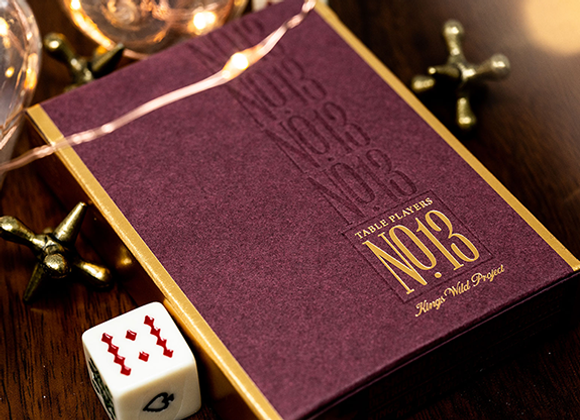 No.13 Table Players Vol. 1 Playing Cards by Kings Wild Project (GV $4)