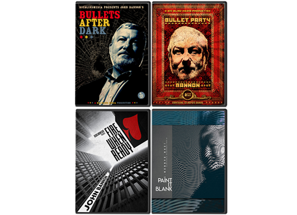 John Bannon's Bullet Trilogy (GV $12)