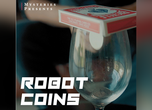 Robot Coins by Mysteries Magic (Preowned)