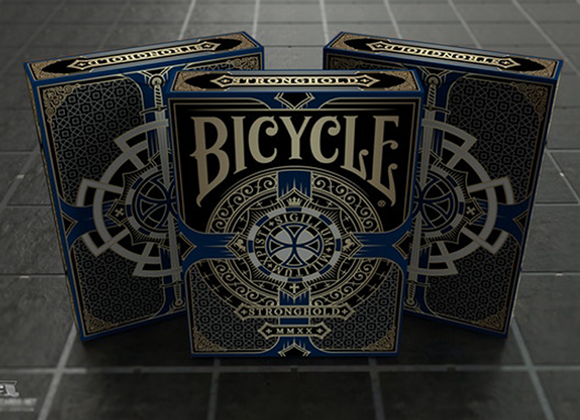 Bicycle Stronghold Sapphire Playing Cards (GV $2)