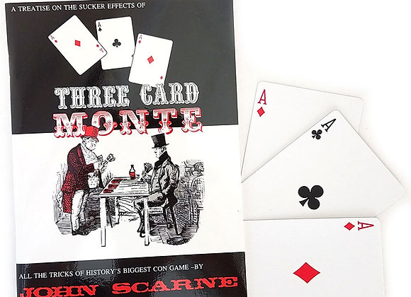 Three Card Monte Pro Kit (Preowned)