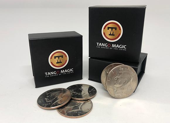 Perfect Shell Coin Set Half Dollar by Tango Magic (GV $28)