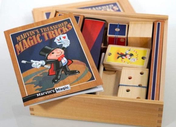 Marvin's Magic Treasured Tricks – Wooden Set