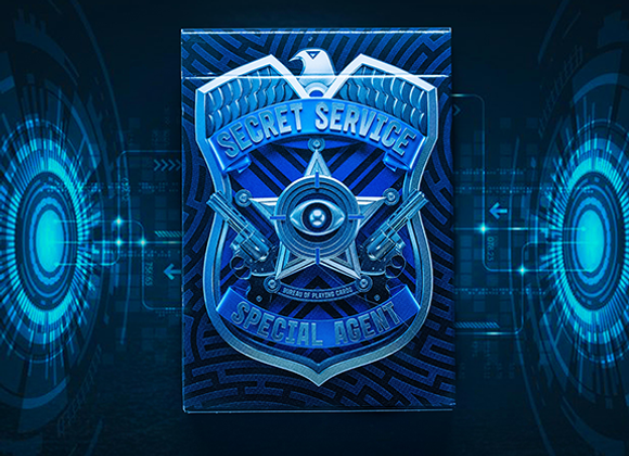 Secret Service Playing Cards