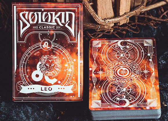 Solokid Constellation Series V2 (Leo) Playing Cards by BOCOPO