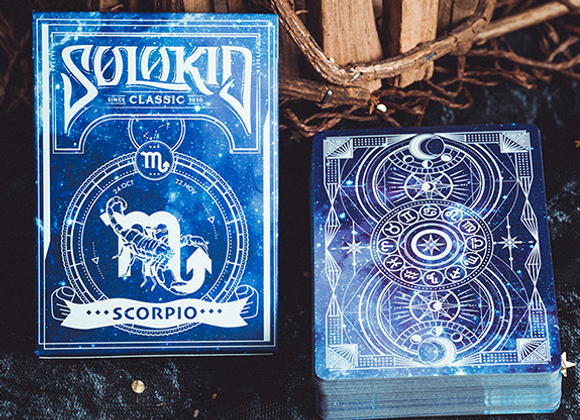 Solokid Constellation Series V2 (Scorpio) Playing Cards by BOCOPO