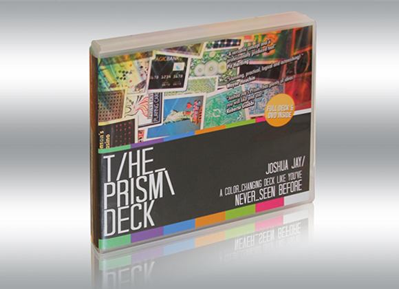The PRISM Deck by Joshua Jay and Card-Shark (GV $4)