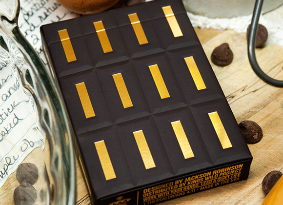 Chocolate Pi Playing Cards by Kings Wild Project (GV $4)