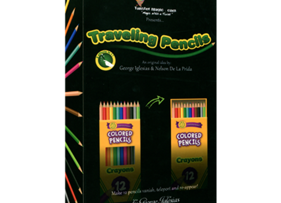 The Traveling Pencils by George Iglesias (Preowned)