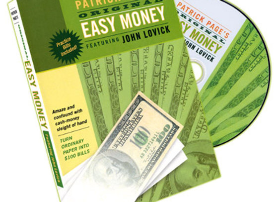 Easy Money DVD by John Lovick and Patrick Page (Preowned)