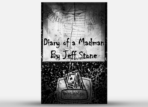 Diary of a Madman by Jeff Stone  (GV $4)