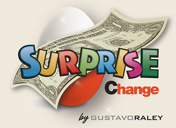 Surprise Change by Gustavo Raley (GV $6)