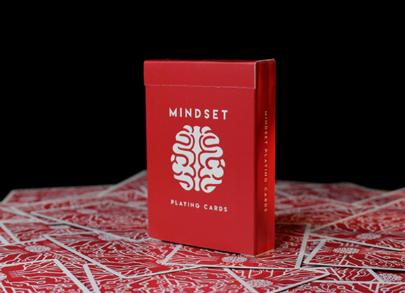 Mindset Playing Cards (Marked) by Anthony Stan (GV $2)