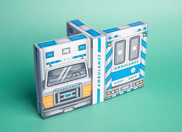 Ambulance Playing Cards by Riffle Shuffle