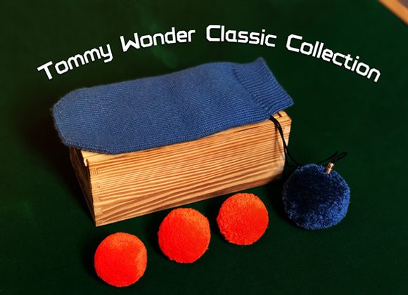 Tommy Wonder Classic Collection Bag & Balls by JM Craft (GV $45)