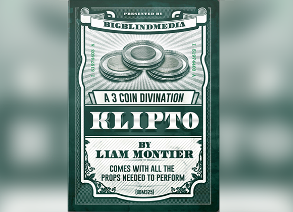 Klipto - A 3 Coin Divination by Liam Montier (GV $6)