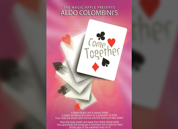 Come Together by Aldo Colombini and Magic Apple (GV $4)