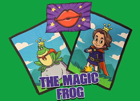 THE MAGIC FROG by Magic and Trick Defma (GV $11)