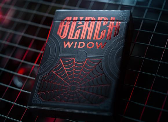 Black Widow Playing Cards (GV $3)