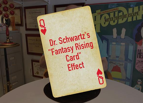 Dr. Schwartz's Fantasy Rising Card (GV $17)