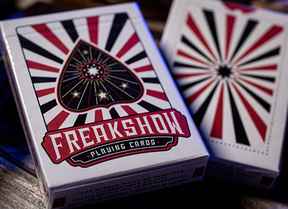 Freakshow Playing Cards (GV $2)