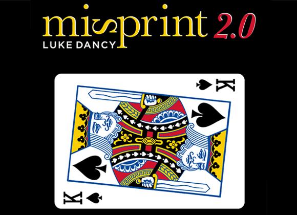 Misprint 2.0 by Luke Dancy (GV $6)