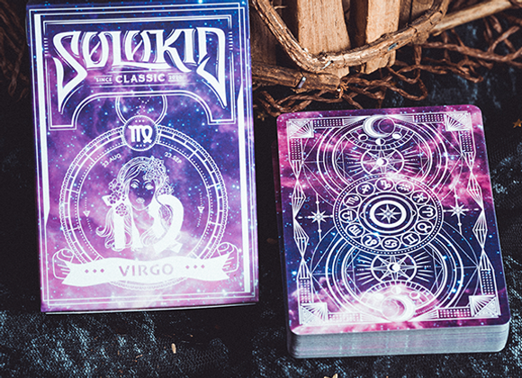 Solokid Constellation Series V2 (Virgo) Playing Cards by BOCOPO