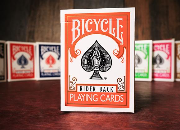 Bicycle Orange Playing Cards