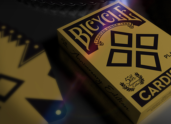 5th anniversary Bicycle Cardistry (Standard) Playing Cards by Handlordz (GV $2)