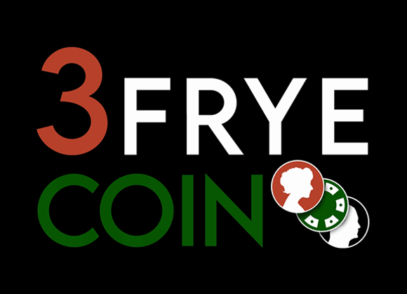 3 Fryed Coin by Charlie Frye and Tango Magic (GV $25)