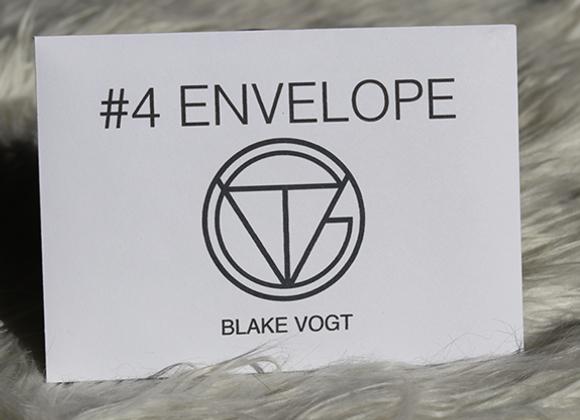Number 4 Envelope by Blake Vogt (GV $10)