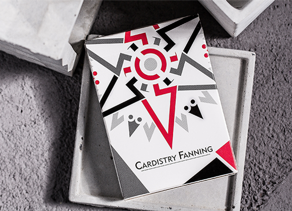 Cardistry Fanning (White) Playing Cards (GV $2)