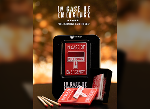 In Case of Emergency by Adam Wilber and Vulpine (GV $7)