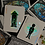 Thumbnail: London Diffractor Emerald Playing Cards