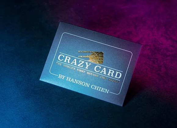 Crazy Card by Hanson Chien (GV $10)