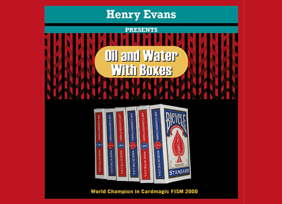 Oil and Water Boxes by Henry Evans
