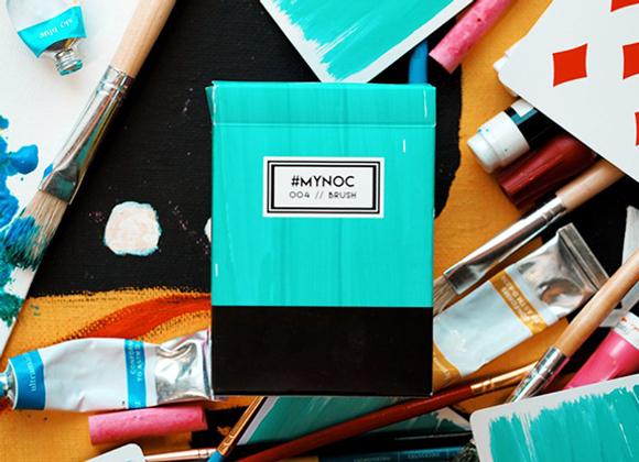 MYNOC: Brush Edition Playing Cards (GV $2)