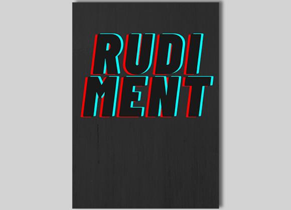 RUDIMENT by Chris Rawlins - Book (GV $17)